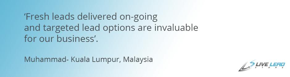 Malaysia Testimonial
