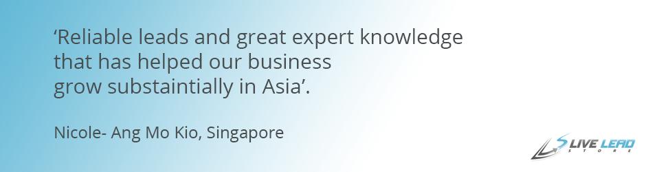 Singapore Testimonial