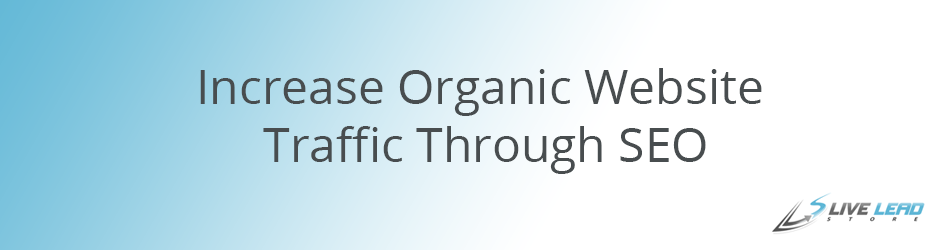 Increase Organic Website Traffic Through SEO