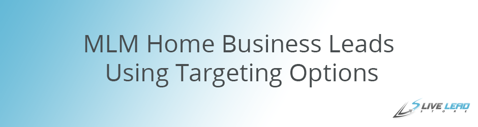 MLM Home Business Leads Using Targeting Options